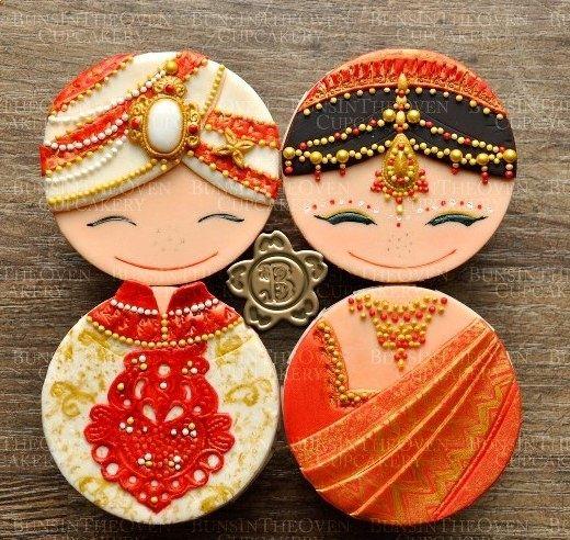 Cupcakes Indian Wedding Pinterest Things