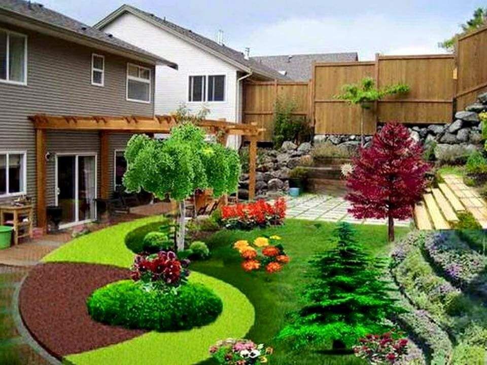 Ideas para jardines peque os con piedra jardines for Decoracion de jardines chicos