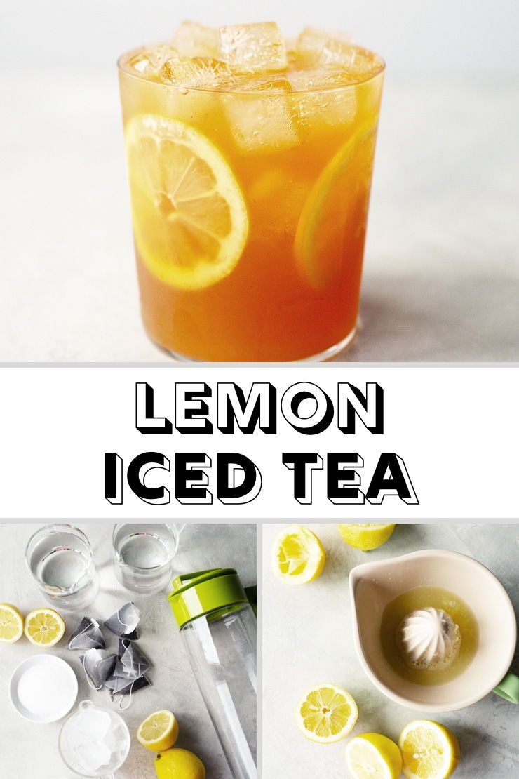 Photo of Quick & Easy Lemon Iced Tea