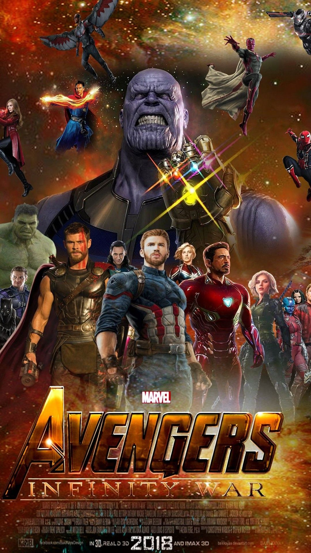 Iphone 7 Wallpaper Avengers Infinity War Iphonewallpapers Movies