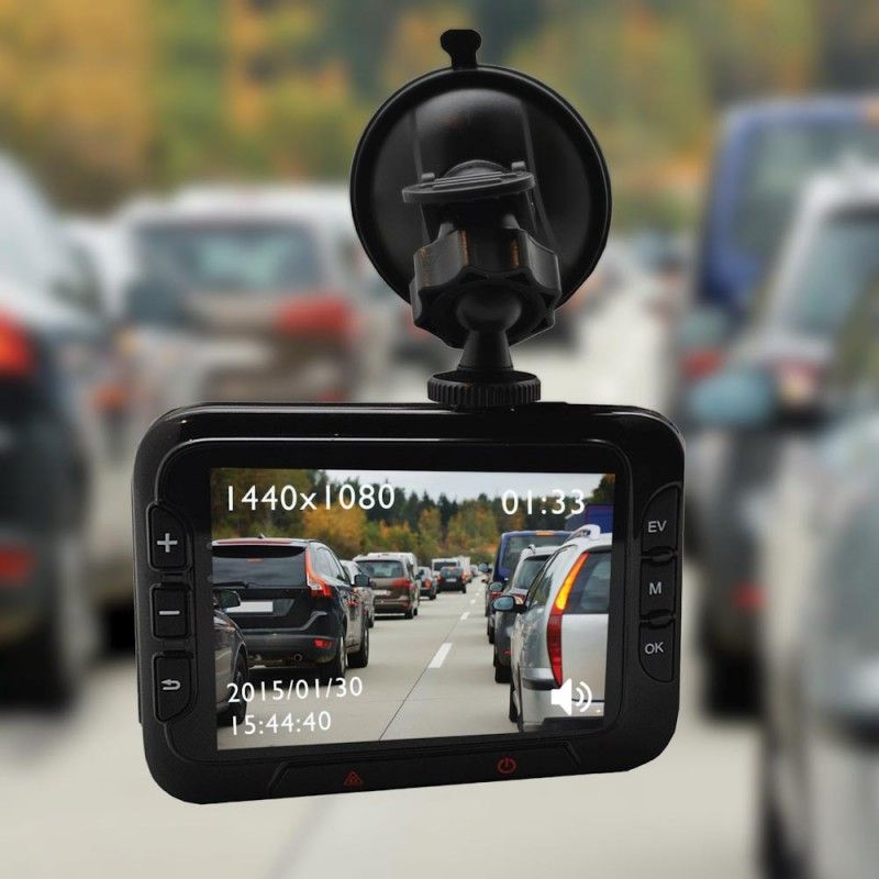 The Dash Cam is a black box HD recorder for your car.