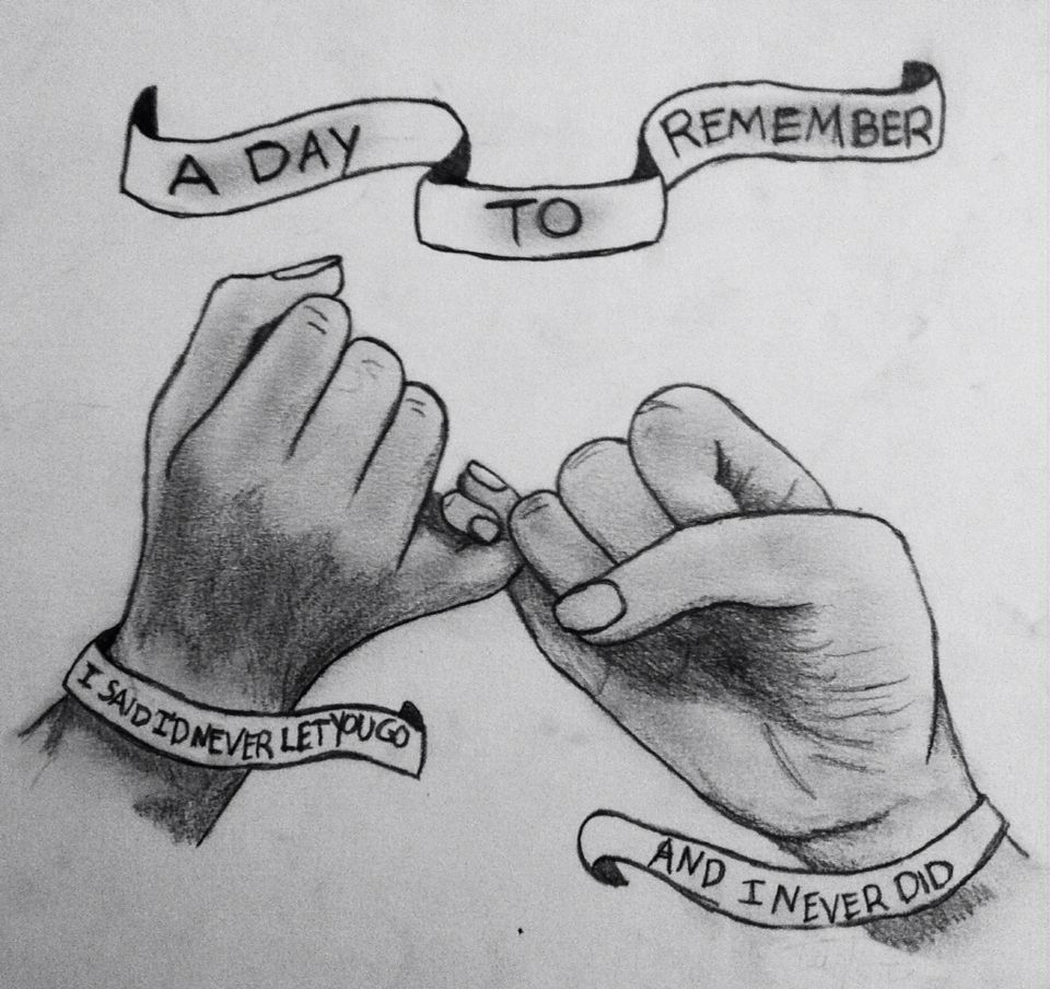 A Day To Remember lyric art -Taylor