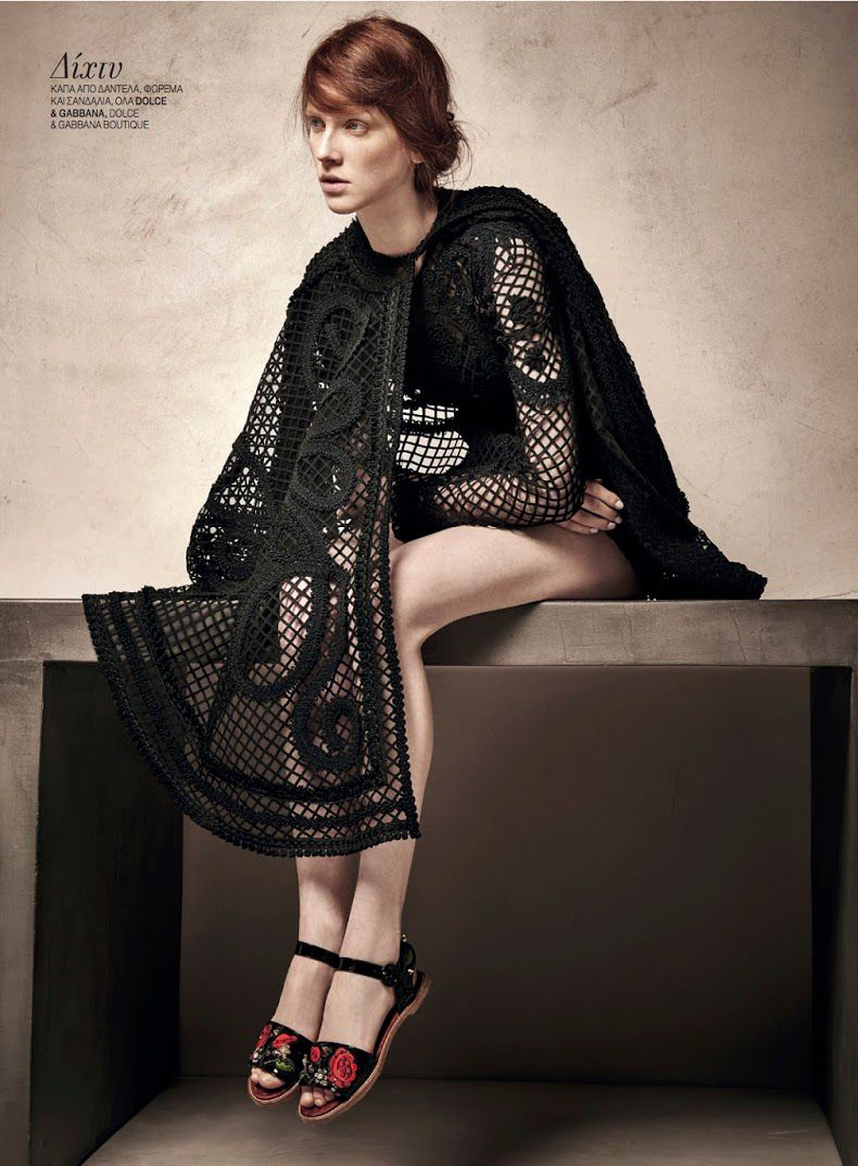 Trends S/S 2015: Annika-Marie Leick By Thanassis Krikis For Marie Claire Greece February 2015
