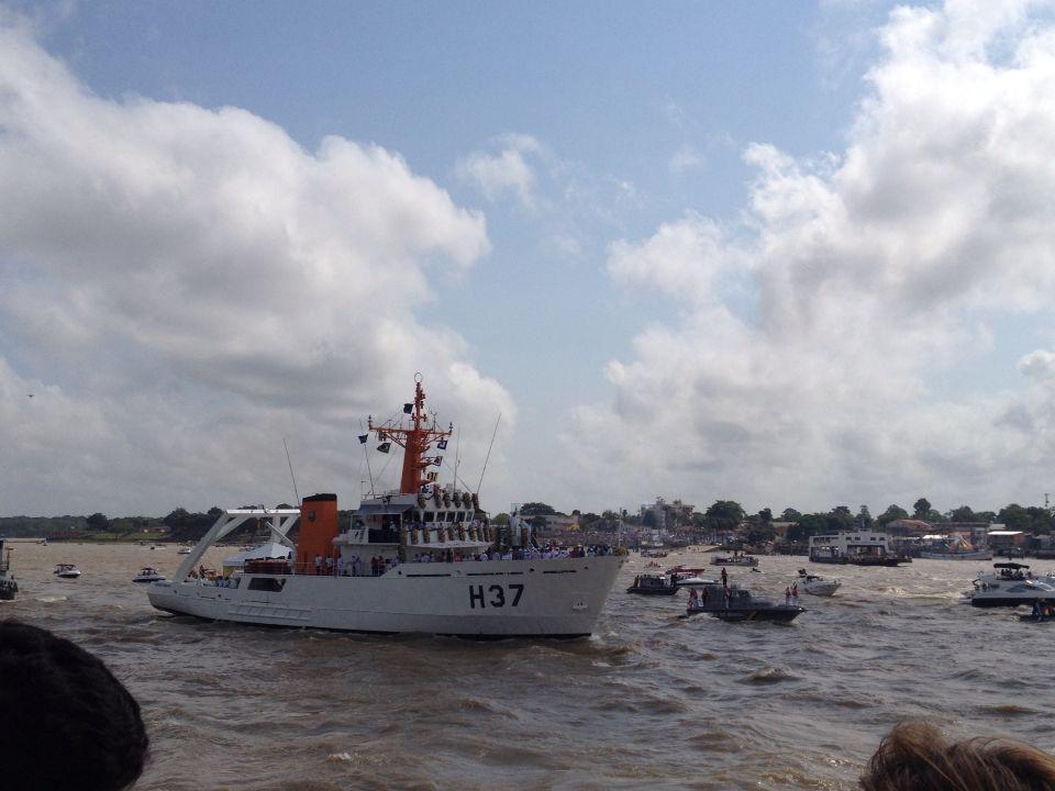 Romaria fluvial Círio de N. Sra. de Nazaré - Belém - PA