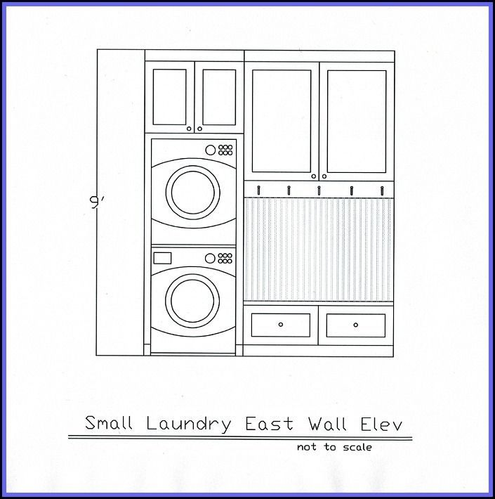 Small Laundry Room Mudroom Ideas Stacked Washer And Dryer