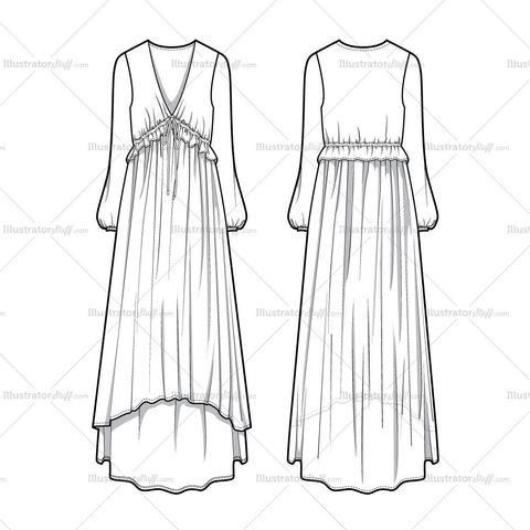Free Fashion Flat Templates Trim Pack Courses Free Tutorials On Adobe Illustrator Tech Packs Freelancing For Fashion Designers Dress Design Sketches Fashion Design Jobs Fashion Design