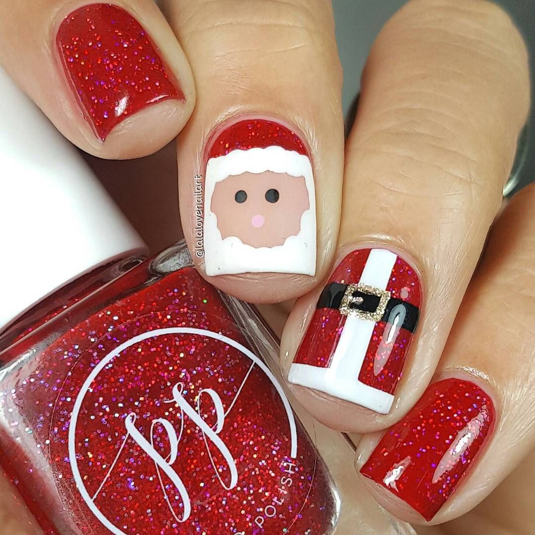 Jessica Christmas Nails: Jessica Byles (@lalalovenailart) • Instagram Photos And