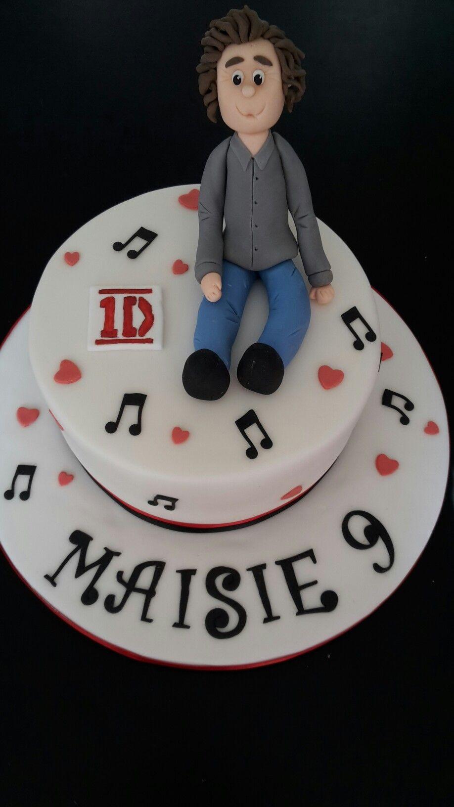 Harry Styles birthday cake childrens Birthday Cakes Pinterest