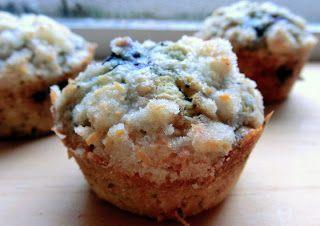Blueberry poppyseed muffins