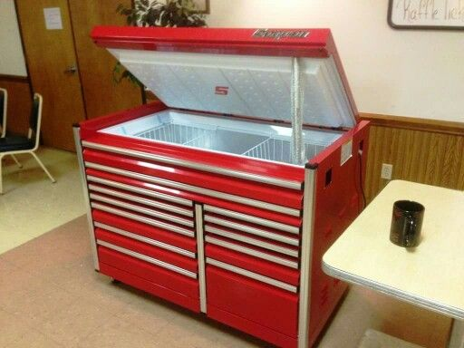 Tool Box Converted To Kitchen Island