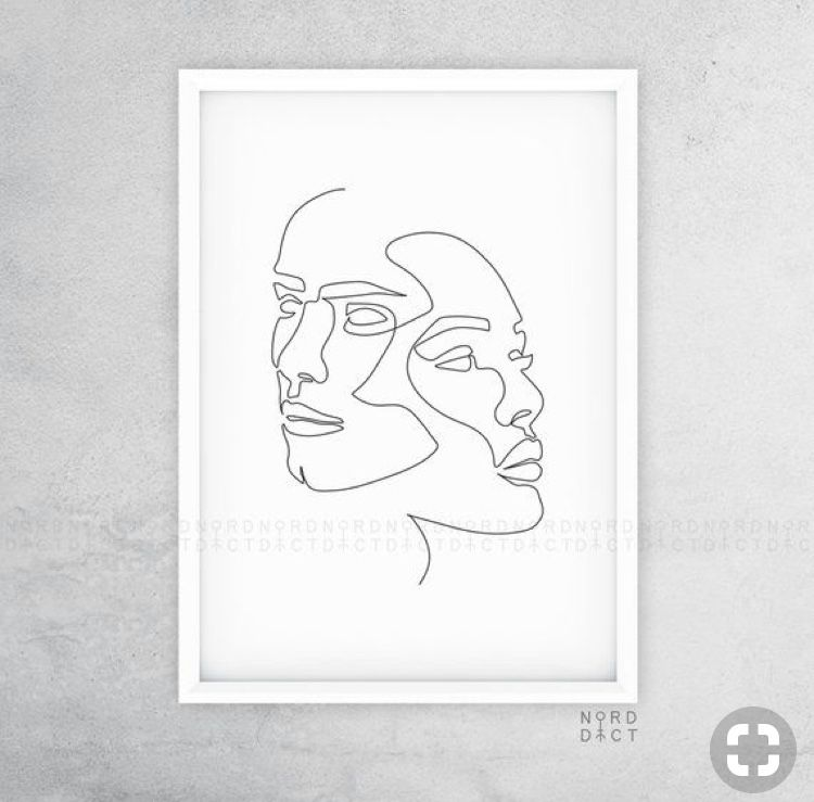 Epingle Par Sebastian Garita Sur Dibujo De Una Sola Linea Peinture Dessin Dessin Illustration Noire