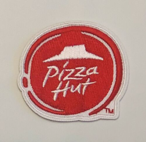 Pizza Hut Logo Patch Embroidered 2 Iron Or Sew On Costume Pizza Hut Logo Pizza Hut Patch Logo