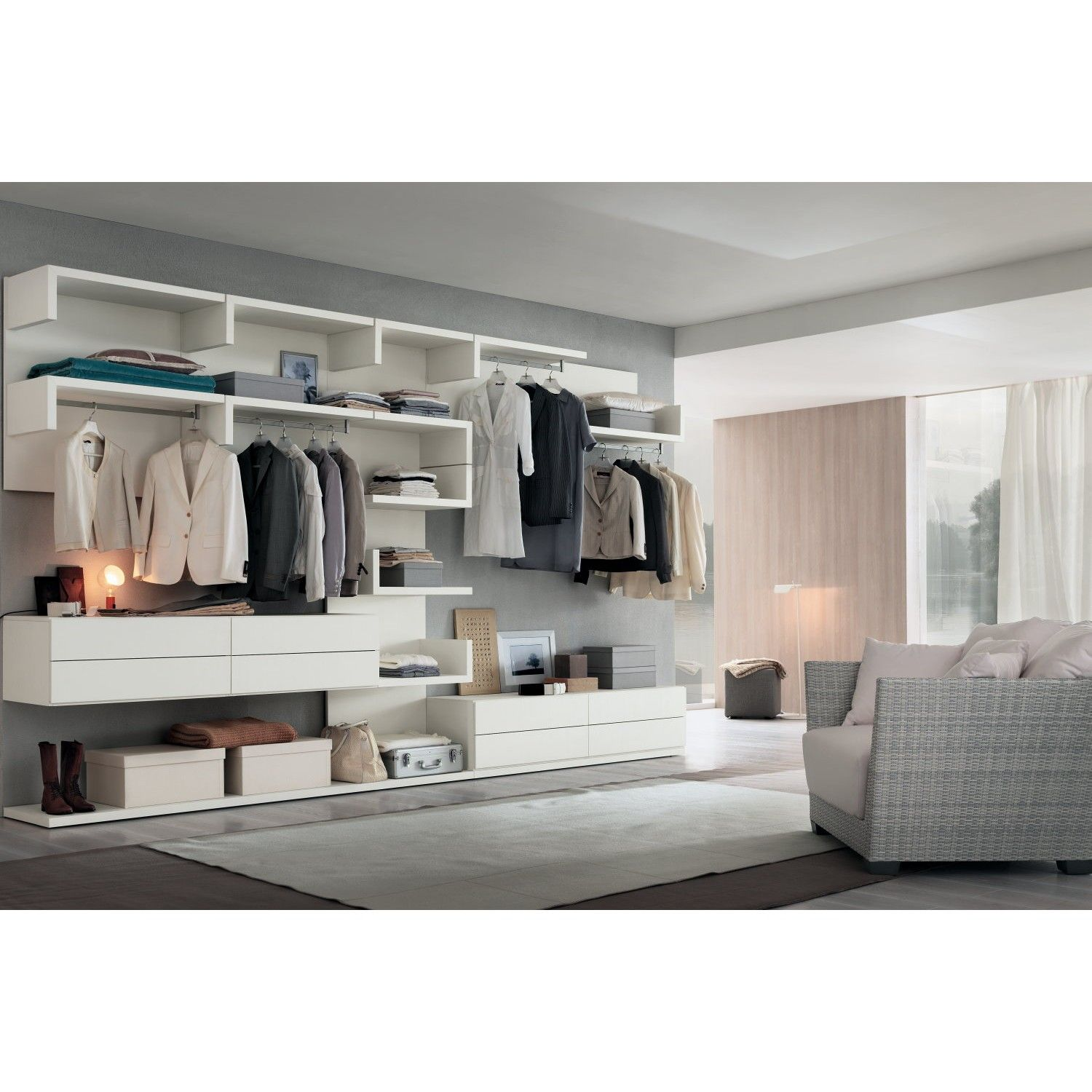 Cabina armadio componibile Easy - ARREDACLICK | closet | Pinterest