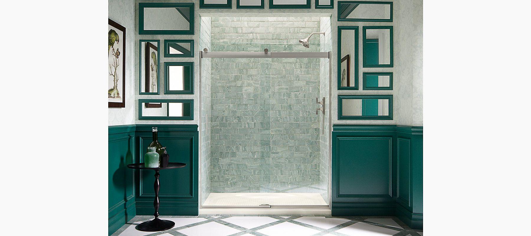 Kohler Levity Frameless Sliding Shower Door K 706012 L Shp