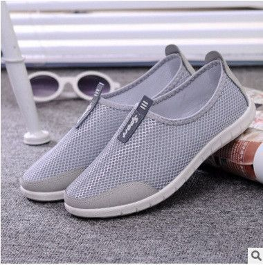 Breathable Mesh Slip-on Shoes - 14 colors