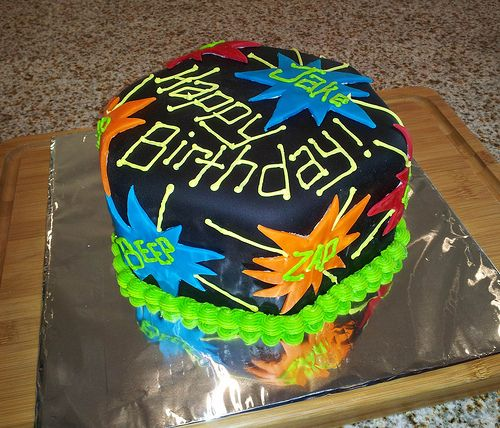 Birthday Numminess Birthdays Laser tag party and Laser tag birthday