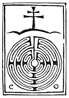 Caerdroia 17 introduced its readers to the use of the labyrinth figure as a printer's device in 15th century Italy. Gian Giacomo Benedetti