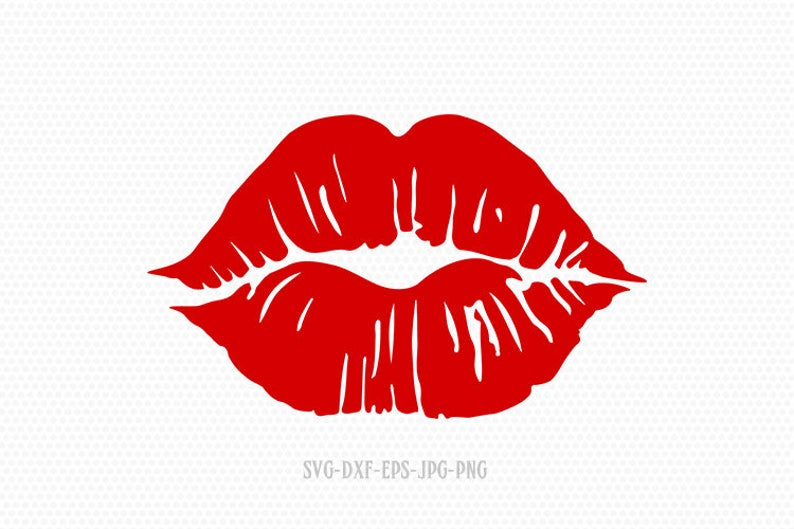 Download Get Free Kissing Lips Svg Gif Free SVG files | Silhouette ...