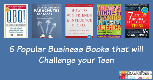 5 Popular Business Books That Will Challenge Your Teen Pinterest