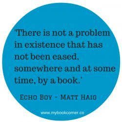 Another reason to be reading From Matt Haig's latest novel - Echo Boy. Full review & online book price comparison