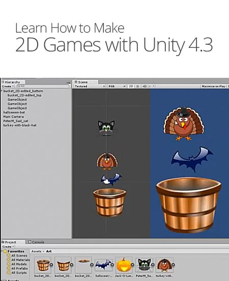 How To Make 2D Games With Unity 4.3