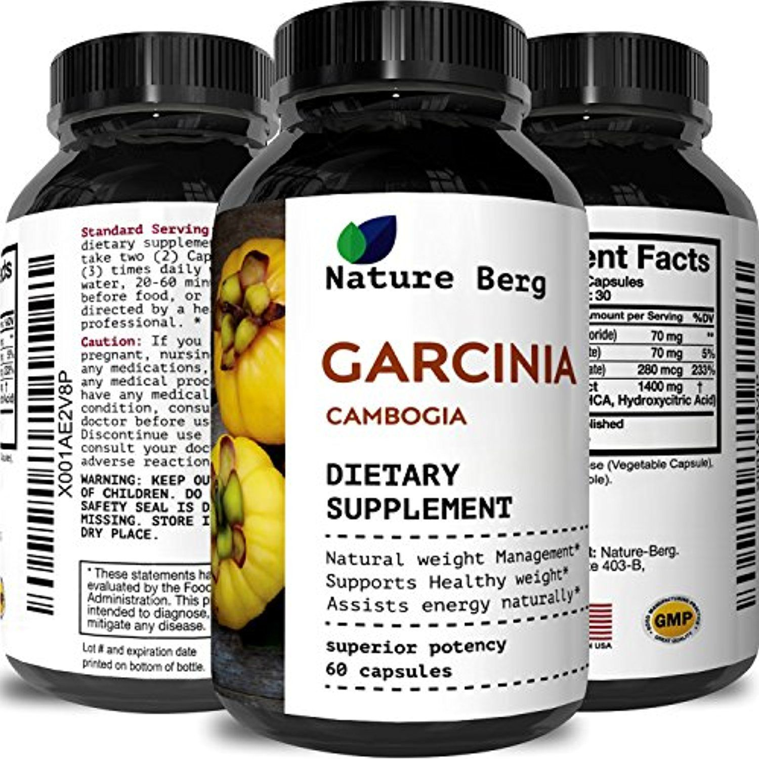 Garcinia Cambogia 95 Hca A Potent Weight Loss Pills For Men And