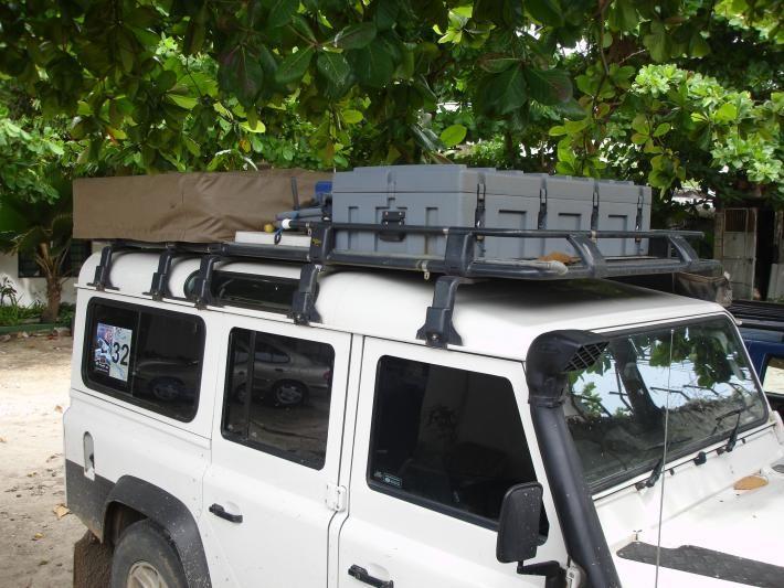 Arb Defender Gutter Mount Roof Rack Half Guarded So You Can Mount