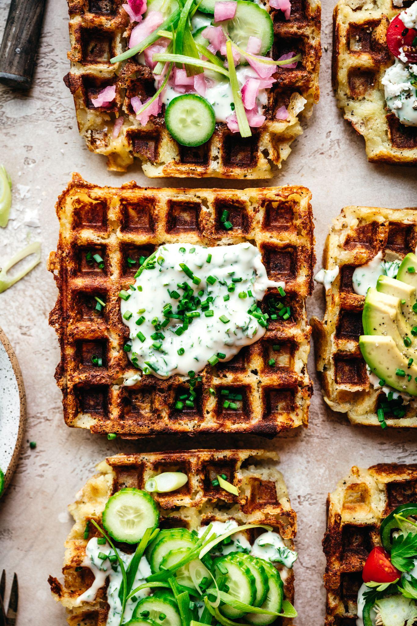 Mashed Potato Waffles
