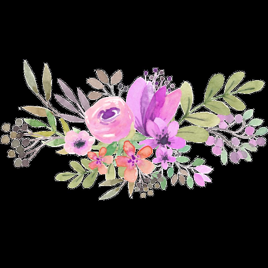 Flower Flowers Tumblr Aesthetic Watercolor Flower Vector Floral Watercolor Flower Drawing
