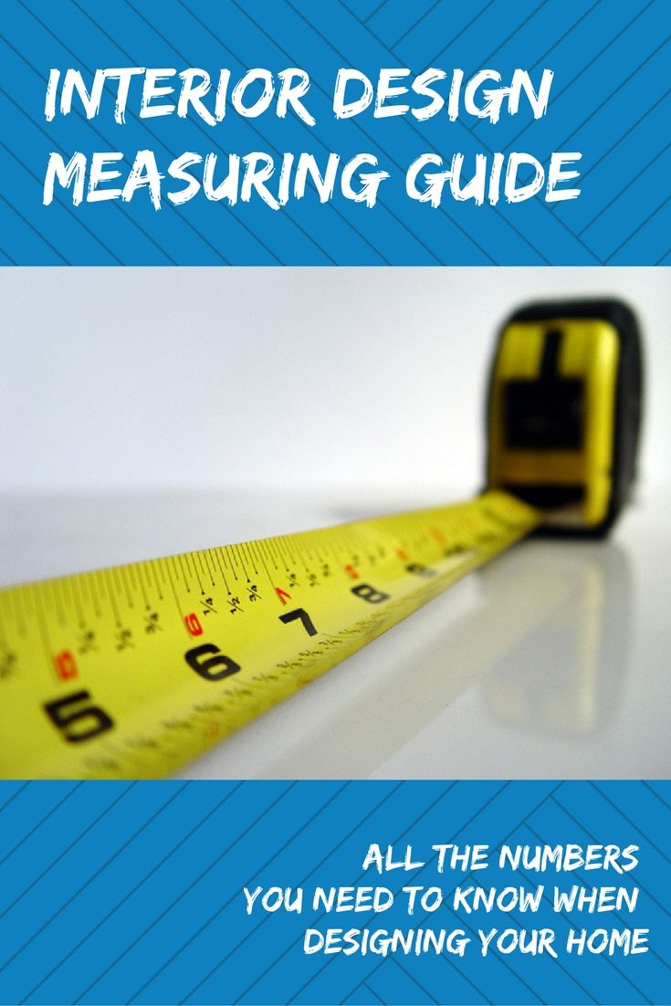 Interior Design Measuring Guide | Tape measure, Toilet and Chandeliers