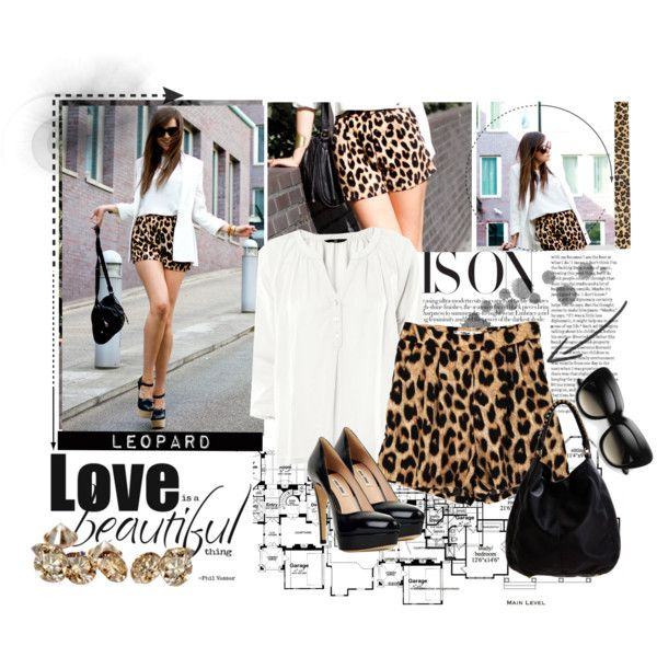 Leopard Style, created by cirri1 on Polyvore