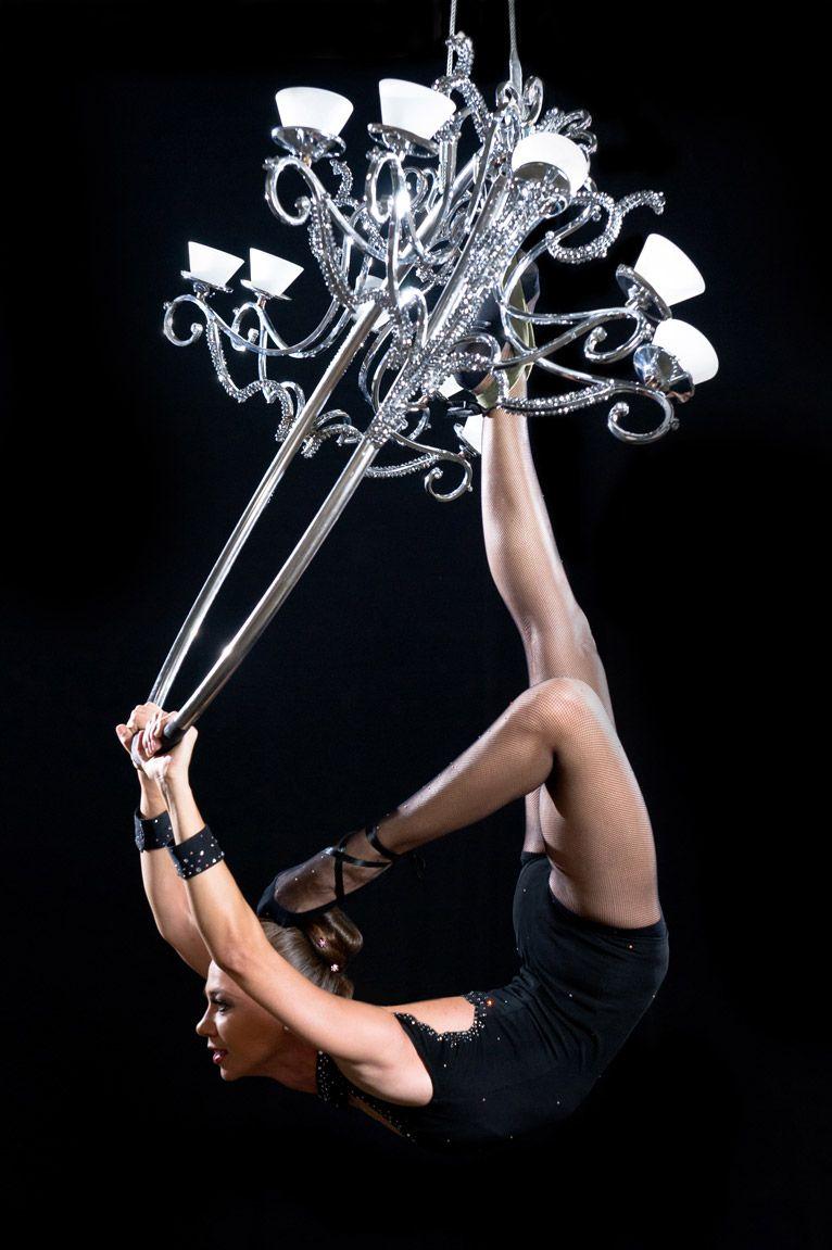 Aerial Chandelier | Acrobatics | Pinterest | Chandeliers, Aerial ...