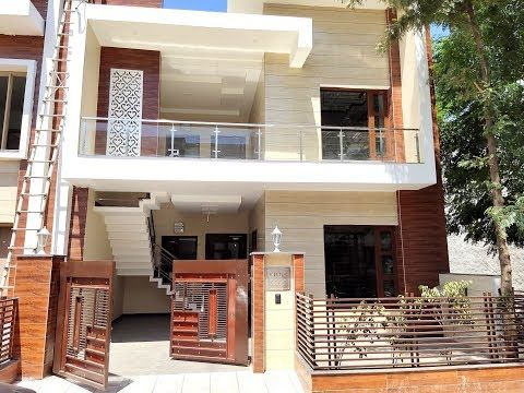3 bedroom independent duplex house design india