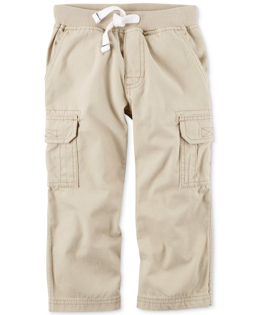 fac6c2dae Carter's Cargo Pants, Little Boys (2-7)   Products   Cargo Pants ...
