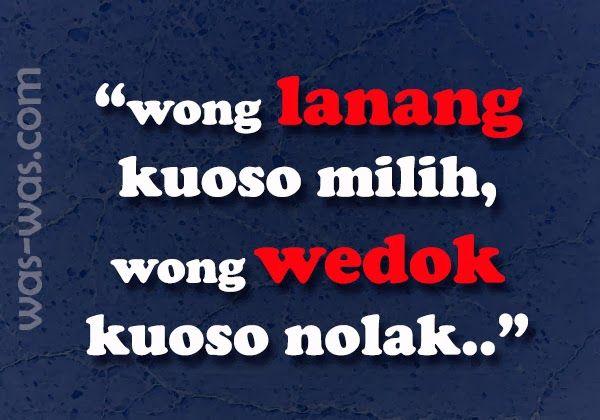 Gambar Kata Kata Lucu Bahasa Jawa Lucu Ungkapan Lucu Bahasa