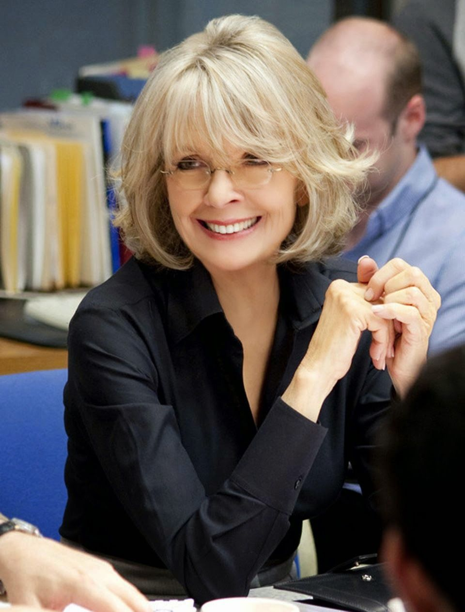 Celebrity Homes Diane Keaton Beverly Hills Hair Pinterest