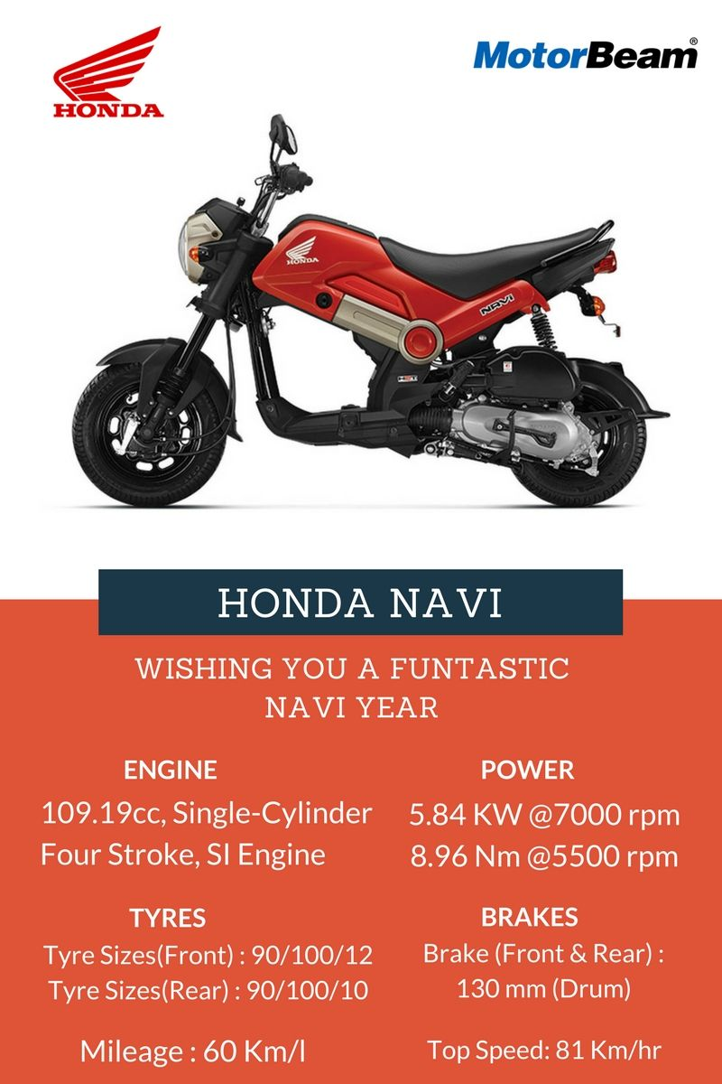 Top 5 150cc 160cc motorcycles in the country indian cars bikes - Check Honda Navi Bike Price In India Review Mileage Specification Images