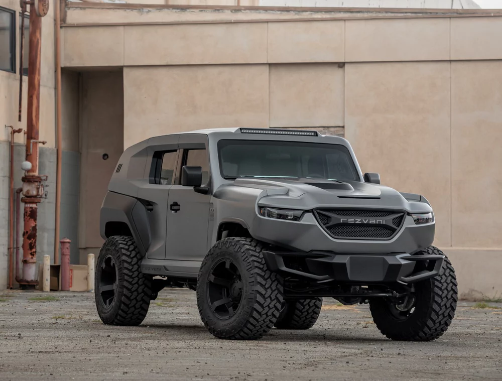 Rezvani Tank X Bulletproof Urban War Machine Becomes The World S First 1 000 Hp Hyper Suv War Machine First World Hellcat Engine