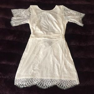For Love and Lemons Dresses & Skirts - SOLD!!  San Marcos White Lace Dress