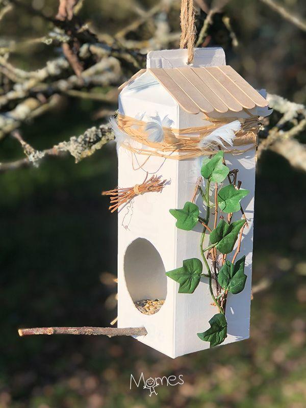 Photo of Mangeoire pour oiseaux tuto facile en pas a pas esprit upcycling – #[Tuto] #a #e…