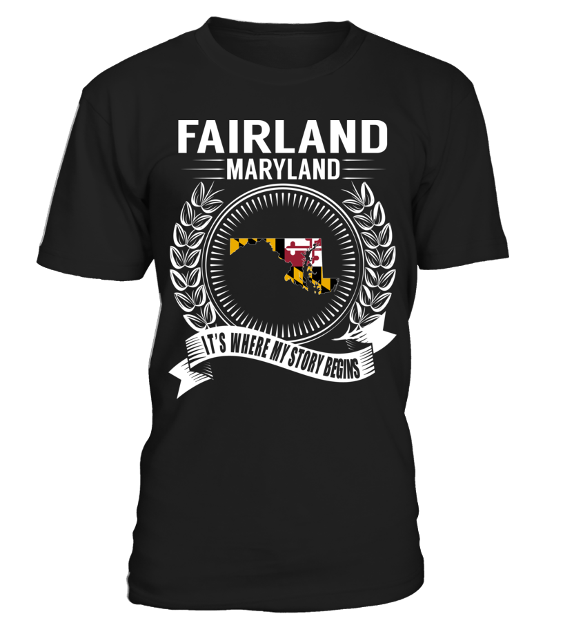 Fairland, Maryland - My Story Begins