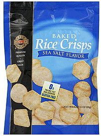 CVS Baked Rice Crisps :: Gluten Free Review   Baked rice ...