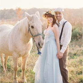 Green Weddings: Week Six, Providing or Encouraging Eco-Friendly Transportation (Image via Kay English Photography)