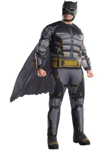 7dbf4cd70a87c Look like your favorite superhero in this Men s Tactical Batman Plus Size  Costume.This costume features a Tactical Batman shirt with attached cape