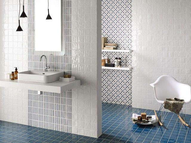 Rivestimento in monocottura lucida memorie rivestimenti bagno pinterest bathroom tiles e - Piastrelle bagno iperceramica ...