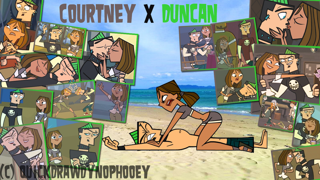 Total Drama Couple Pix Wallpaper Duncney By Quickdrawdynophooey Deviantart Com On Deviantart Total Drama Island Drama Cartoon