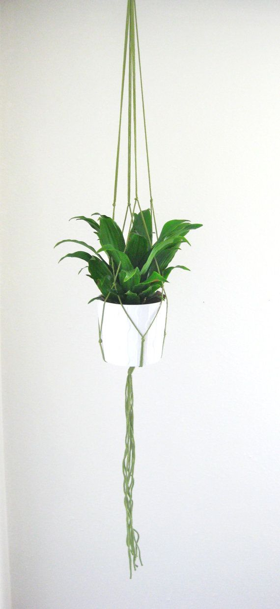 MACRAME PLANT HANGER // More Colors / Macrame Plant Hanger / Plant Hanger / Home Decor