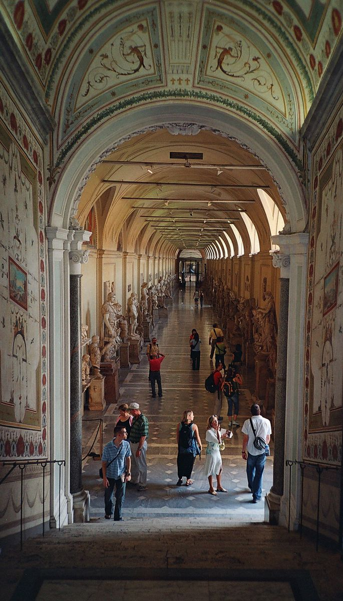 Museos Vaticanos, #Roma.