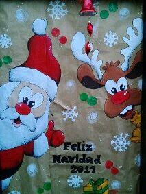 Decoracion de puertas escolares navidad for Decoracion de puertas escolares