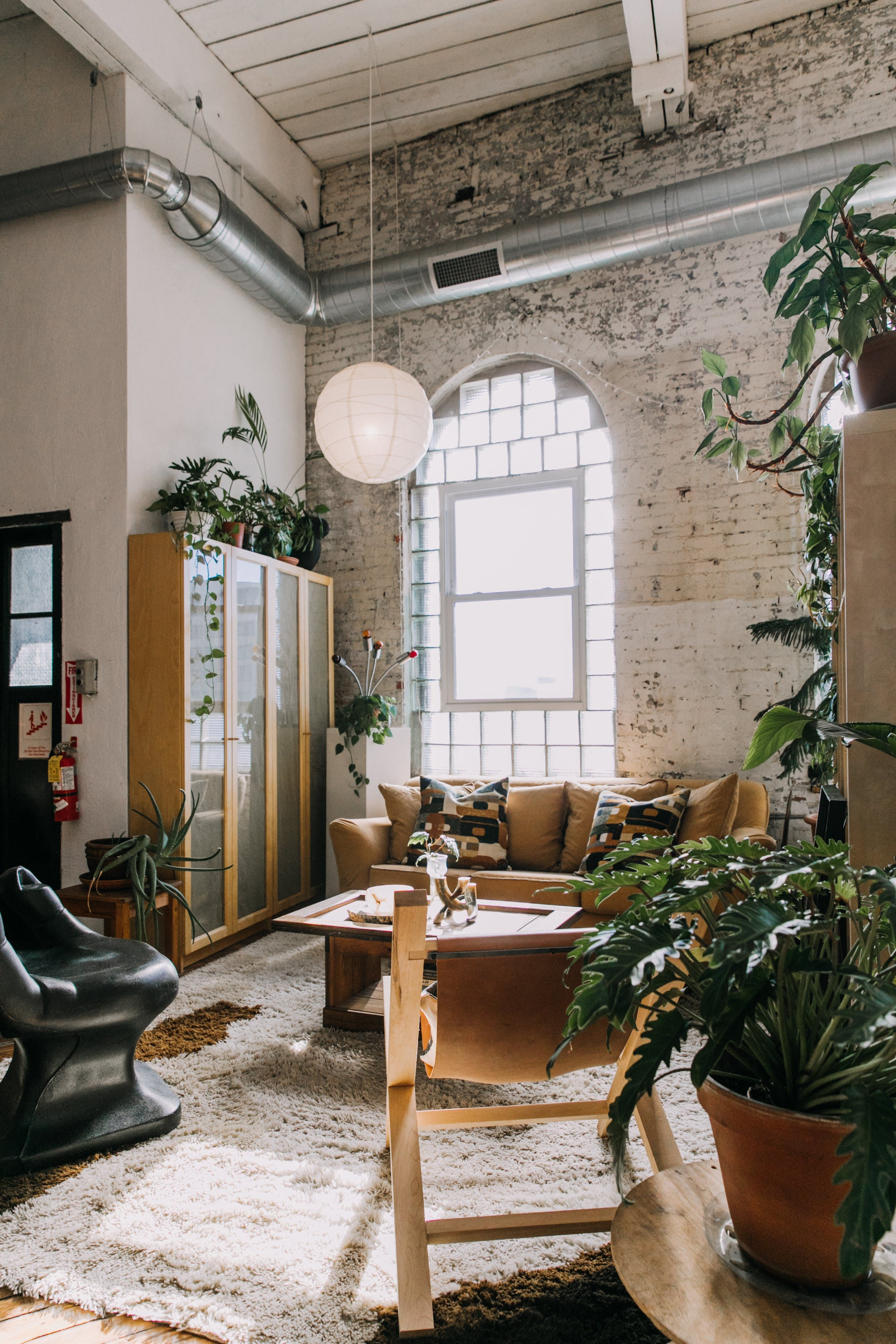A Sunny Stunning Loft Apartment In An Old Textile Factory Loft